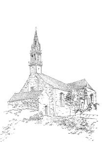 891 Finistère – Eglise St Pierre St Paul – Spézet