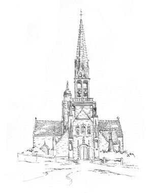 921 Finistère Chapelle Notre Dame Rumengol – Le Faou