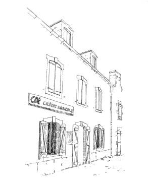 929 Finistère – Ile de Sein – Crédit Agricole
