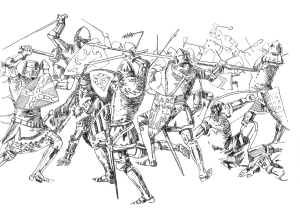 932 Bataille des Trentes – Josselin et Ploermel