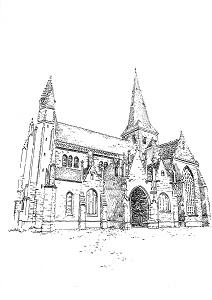 941 Loire atlantique – Collégiale – Guérande