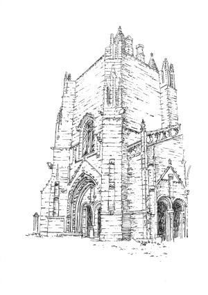 945 Finistère – Eglise St Nonna – Penmarc'h