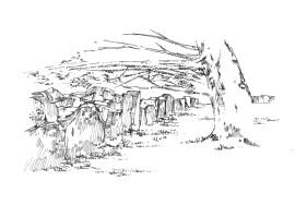 954 Enclos druidique de Begnivot – Beuzec – Finistère