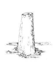 957 Finistère – Stèle route de Pont Croix Esquibien