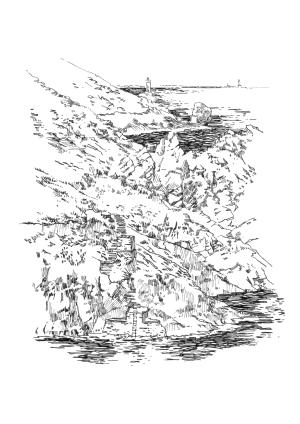 960 Cale Poulmeustrec – Pointe du Raz – Finistère