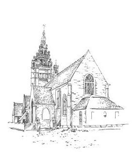 977 Finistère – Eglise Noter Dame de Croaz Batz – Roscoff