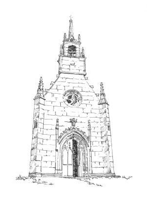 986 Côtes d'Armor – Chapelle calvaire – Rochederrien