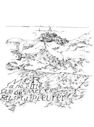 991 Sculpture rochers – Pteduraz – Finistère