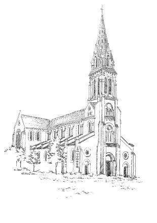 996 Eglise à St Joachim – Loire Atlantique