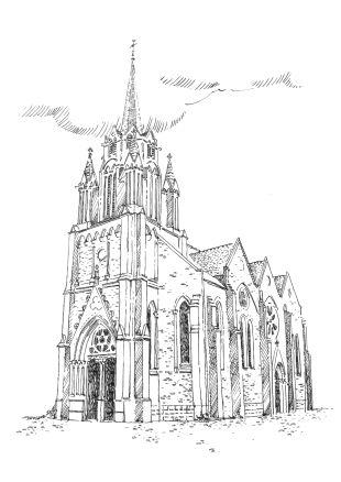 999 Loire atlantique – Eglise Notre Dame des Eaux – St André des Eaux