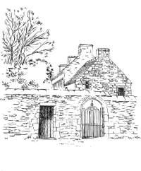 Finistère – Presbytère ancien – Mahalon