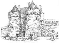 Loire atlantique – Cité Guérande – Remparts Tour