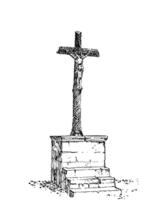 1025 Morbihan – Arz – Calvaire du bourg
