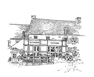 1027 Morbihan – Arz – Bar de La Marine