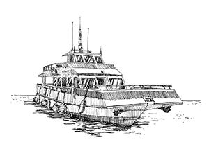 1033 Morbihan – Arz – Bâteau La Fée des Iles
