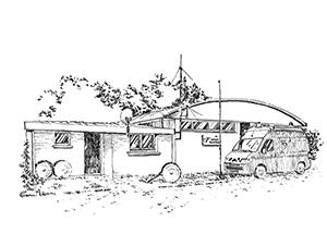 1038 Morbihan – Arz – Caserne de Pompiers