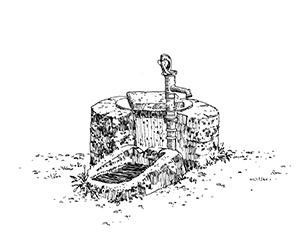 1040 Morbihan – Arz – Puits de Rudevent