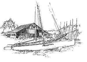 1046 Morbihan – Arz – Bateaux – Les Glenans