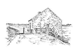 1042 Morbihan – Arz – Moulin à Marée