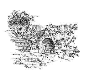 1049 Morbihan – Arz – Fontaine Varia Notre Dame