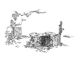 1052 Morbihan – Arz – Pompe à bras