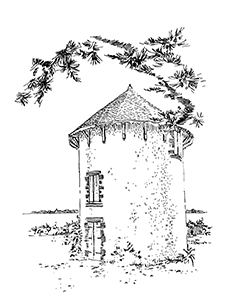 1062 Morbihan – Arz – Moulin de Kernoel