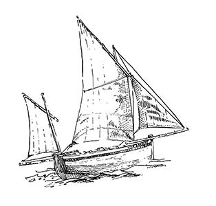 1064 Morbihan – Arz – Chaloupe