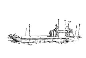 1071 Morbihan – Arz – Bateau