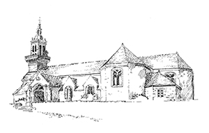 952 Eglise Primelin Saint Primel – Finistère