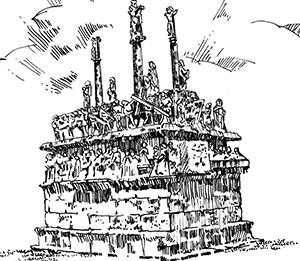 400 Finistère – Calvaire de Tronoën