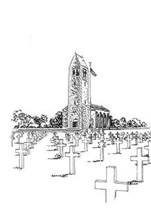 433 Ile et Vilaine – Cimetière américain – Saint James