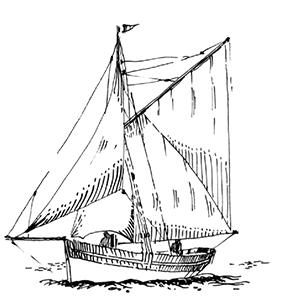 464 Finistère – Le Sarah coulé au sud est de l'ile de Sein
