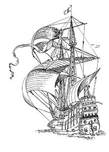 537 Finistère – Le Concorde échoué en 1736 au sud de Porstarz