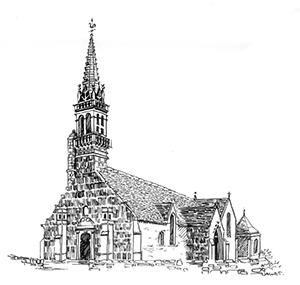 006 Église – St Cadoan – Poullan – Finistère
