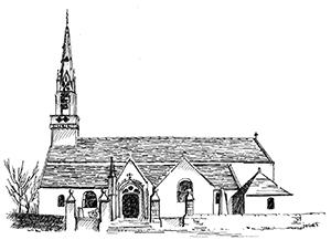 009 Église Saint Golvan – Goulien – Finistère