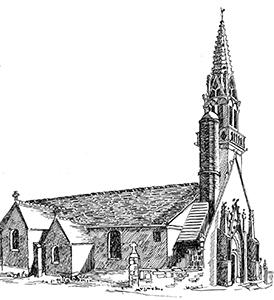 010 Église St Collodan – Finistère