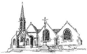 016 Église St Onneau Esquibien – Finistère