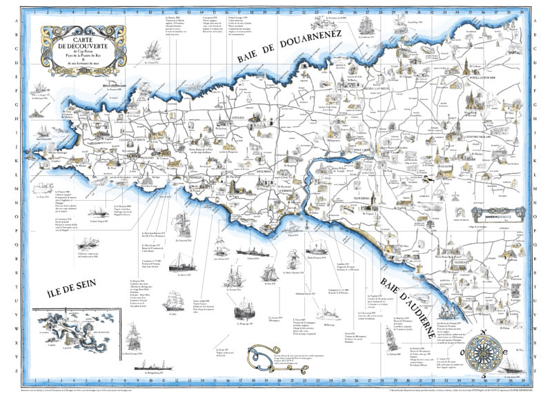 Carte du Cap Sizun